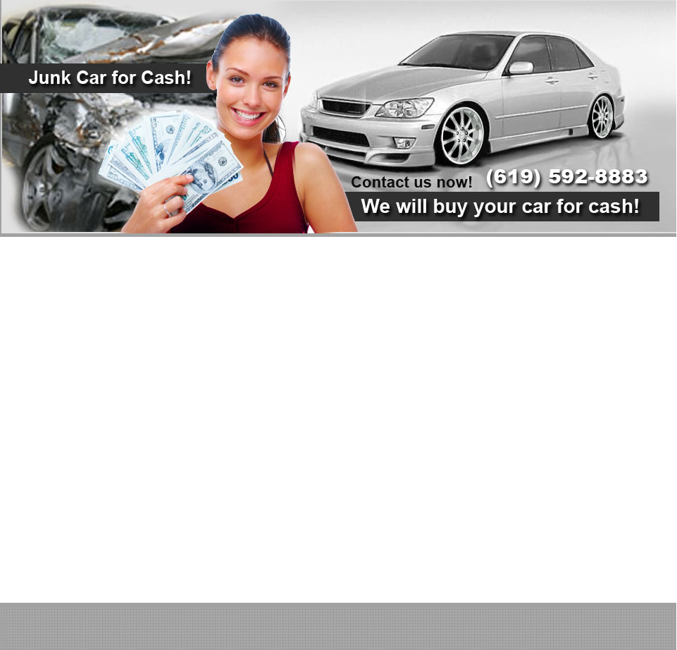 Cash For Cars- Cool Car Buyers (619) 592-8883